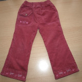 pantaloni grosi dublati cu polar