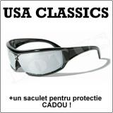 Ochelari de soare USA Classics - Colectia Biker + un saculet de protectie !