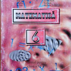 MATEMATICA MANUAL PENTRU CLASA A VI-A - George Turcitu, Constantin Basarab - Manual scolar, Clasa 6