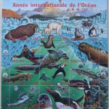 NATIUNILE UNITE GENEVA 1998 - ANUL OCEANULUI 1 M/SH, NEOBLITERATA - E1660