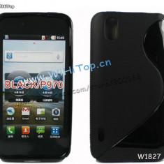 Husa silicon LG P970 OPTIMUS BLACK + expediere gratuita Posta - sell by PHONICA - Husa Telefon
