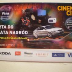 CARD VISA - KARTA DO SWIATA NAGROD - POLONIA . - Card Bancar