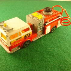 Majorette POMPE A INCENDIE Made in France scara 1:47