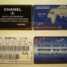 CARDURI NEBANCARE - CHANEL, ORIFLAME, GF ELGEF, TONIS . - Card Bancar