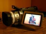 VAND CAMERA VIDEO SONY DCR-TRV950E, DCR TRV 950 E MINIDV (CA SI NOUA) 3CCD, SEMIPROFESIONALA