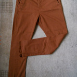PANTALONI Jeans barbati BERSHKA BUMBAC, NOI , MARIME 42, SLIM FIT