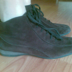 Pantofi mocasini din piele firma Paul Green marimea 39, 5, arata impecabil! - Mocasini dama Paul Green, Culoare: Maro, Maro