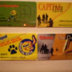 CARDURI CLUB - GAZETA SPORTURILOR, CAPITAL, NESQUIK, GIMA . - Card Bancar