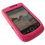 Husa mesh Blackberry 9800 + expediere gratuita cu Posta Romana, Piele Ecologica