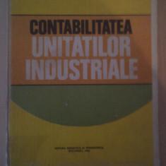 CONTABILITATEA UNITATILOR INDUSTRIALE DE DUMITRU RUSU, RONELIA DAVIDEANU, EDITURA DIDACTICA 1980, CARTONATA - Carte Contabilitate