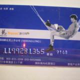 CARD BANCAR - TRAVEL - CHINA .