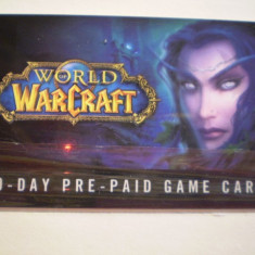 CARD WORLD WAR CRAFT - 60 DAY PRE PAID GAME CARD - U. S. A. - Card Bancar