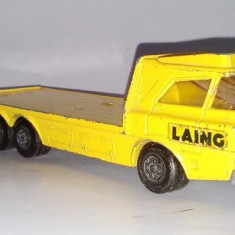 MATCHBOX SUPERKINGS - CONSTRUCTION TRANSPORTER K36 - 1974 - Macheta auto