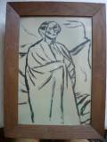 Desen  - Iser ( ilustratie la volumul De vorba cu mine insumi de Ion Minulescu )