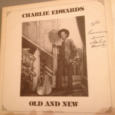 CHARLIE EDWARDS (rare-old country ) - OLD AND NEW (1959/CRYSTAL REC /USA )-VINIL - Muzica Rock Altele