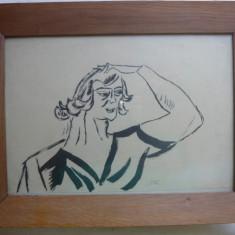 Desen - Iser ( ilustratie la volumul De vorba cu mine insumi de Ion Minulescu ) - 2 - Pictor roman