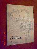 Spectacol - Leonid Dimov  (dedicatie, autograf)