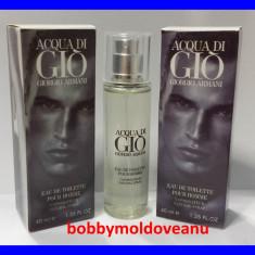 TESTER FIOLA PARFUM BARBAT GIORGIO ARMANI AQUA DI GIO - 40ML - Parfum barbati