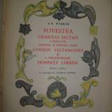 A. S. Puschin, Povestea caiului Saltan - Carte educativa
