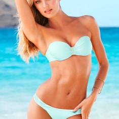 Costum de baie Victoria's Secret, 100% ORIGINAL ~ Livrare cca 10 zile ~ Aducem pe comanda orice produs de la Victoria's Secret USA, Marime: XS, S, M, L, Culoare: Bleu, Doua piese