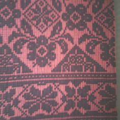 Macat tesut manual din lana naturala