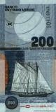 CAPUL VERDE █ bancnota █ 200 Escudos █ 2005 █ P-68 █ UNC █ necirculata