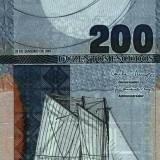 CAPUL VERDE █ bancnota █ 200 Escudos █ 2005 █ P-68 █ UNC █ necirculata - bancnota africa