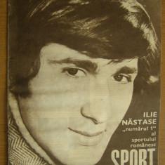 Revista SPORT nr. 1/1971 Universitatea Craiova Ilie Nastase