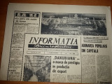 ziarul informatia bucurestiului 1 iulie 1968 ( danubiana o marca de prestigiu )