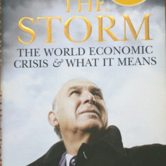 THE STORM THE WORLD ECONOMIC CRISIS AND WHAT IT MEANS - Vince Cable