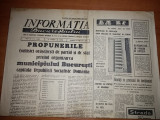 informatia bucurestiului 3 februarie 1968-propunerile privind orga.bucurestiului