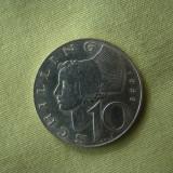 10 schilling 1969 Austria - Argint, Europa