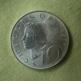 10 schilling 1971 Austria - Argint aUNC, Europa