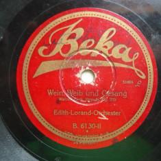 Disc gramofon Beka - 2 valsuri Johann Strauss
