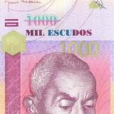 CAPUL VERDE █ bancnota █ 1000 Escudos █ 2007 █ P-70 █ UNC █ necirculata - bancnota africa