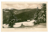 587- Sibiu, Hohe Rinne, GAUSORA - old postcard - unused - 1917, Necirculata, Printata