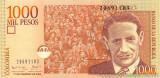 COLUMBIA █ bancnota █ 1000 Pesos █ 2004 █  P-450g █ UNC █ necirculata