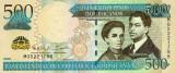 REPUBLICA DOMINICANA █ bancnota █ 500 Pesos Dominicanos █ 2013 █ P-186c █ UNC