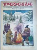 Ziar umoristic interbelic - VESELIA - Nr. 6 / 4 februarie 1926 - Coperta: tema vanatoreasca