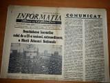 ziarul informatia bucurestiului 15 februarie 1968-marea adunare nationala