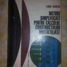 Metode simplificate pentru calculul constructiilor multietajate