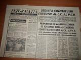 Ziarul informatia bucurestiului 7 iulie 1971-sedinta comitetului executiv al PCR