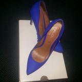 Pantofi Dama Stiletto, piele interior, exterior