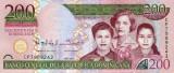 REPUBLICA DOMINICANA █ bancnota █ 200 Pesos Dominicanos █ 2013 █ P-185 █ UNC
