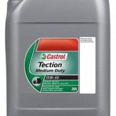 Ulei motor 15W-40 CG TECTION 20L CASTROL ulei original made in Germany
