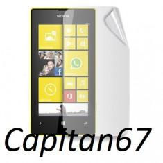 Folie Protectie Ecran Telefon Nokia Lumia 520 Clara Si Mata - Folie de protectie Nokia, Lucioasa