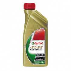 Ulei motor Castrol 5w-40 edge TURBO DISESEL 1L ulei original made in Germany