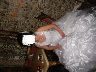 rochie de mireasa+accesorii foto