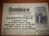 Scanteia 1 iunie 1969-directivele congresului al 10-lea privind cincinalul