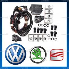 Senzori de parcare (park pilot OPS) Spate si Fata pt VW Golf 5 V, Golf 6 VI, Jetta, Eos, Scirocco, Tiguan, Passat SKODA Octavia, Superb, Yeti - Senzor de Parcare